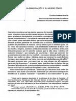 Diaz Garcia, Descartes la imaginación y el mundo fisico
