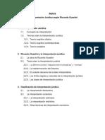 La Interpretación Jurídica Según Riccardo Guastini