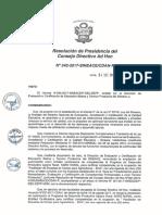 Resolución N°342-2017-SINEACE-CDAH-P