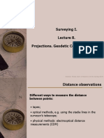 Lecture7 Projections, Geodetic Control Networks