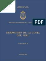 Derrotero de La Costa Del Peru Volumen II