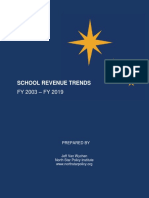School Revenue Trends 2003-2019