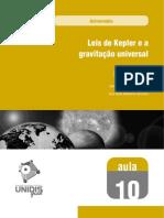 LEIS DE KEPLER E A GRAVITAÇÃO UNIVERSAL.pdf