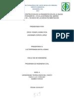 trabajo de impacto ambiental formulación de matrices