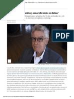 Bunge, Mario - Entrevista El Psicoanálisis y Otras Seudociencias Son Dañinos - Babelia-EL PAÍS