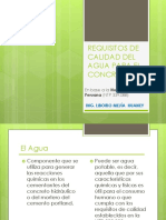 2. REQUISITOS DE CALIDAD DEL AGUA PARA EL CONCRETO.pptx
