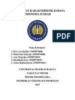PENGGUNAAN KARAKTERISTIK BAHASA INDONESIA ILMIAH.docx