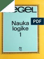 Hegel - Nauka Logike 1