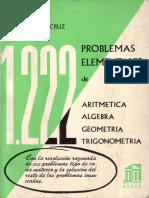 Problemas Elementales de Aritmetica, Algebra, Geometria y Trigonometria.pdf
