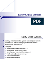 Safety Critical System - SIL