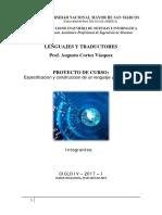 Modelo Informe Proyecto de Lenguajes y Traductores 1