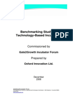 725 - Benchmarking Study on Technology Based Incubators_0