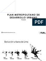Plan Metropolitano de Desarrollo Urbano