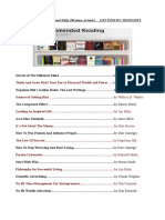 List of Recomended Books