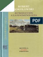 Introduccion a La Fenomenología Robert Sokolowski