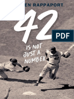 42 Is Not Just a Number by Doreen Rappaport Chapter Sampler