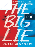 The Big Lie by Julie Mayhew Chapter Sampler