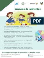 Manejo y Consumo Alimentos Cartel1