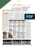 Mercado de seguros para mascotas