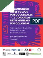 2 Circular III Congreso de Estudios Poscoloniales