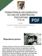 [47769-248286]Transtornos Substancias Psicoativas Cid10