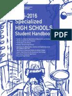 2015 2016-SHSAT English