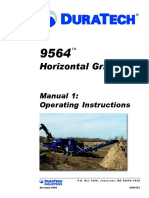 9654 Horizontal Grinder Duratech