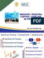 Unidad III - Medición, Registro, Control y Análisis de Proceso