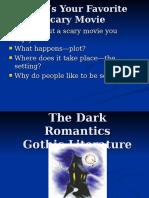 gothic presentation