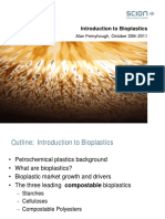Alan Fernyhough Introduction to Bioplastics