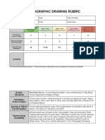cad orthographic rubric
