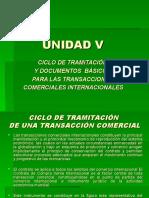 UNIDAD V CICLO Y DOCUMENTOS TRANSACCIONES COMERCIALES.ppt