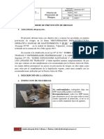 Informe de Prevención de Riesgos n 4 Hangar