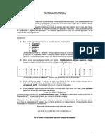 Multifactorial - Cuadernillo