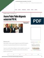 02-09-17 Asume Pedro Pablo dirigencia estatal del PRI NL - Hora Cero Web.pdf