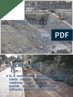 Excavaciones y Desalojos. Construcciones