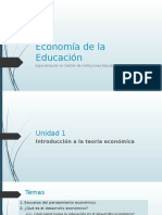Economía de La Educación