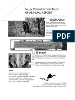 2009 Annual Report Three Valley Conservation Trust