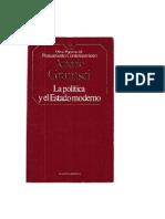 Gramsci Antonio - La Politica Y El Estado Moderno.doc