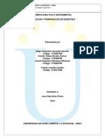 Plan de Muestreo Quimica Analitica
