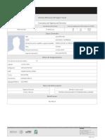 Formato de derechohabiencia del Sitio del IMSS