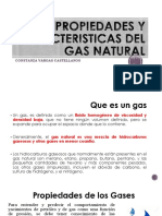 Clase 2. Propiedades y Caracteristicas Del Gas Natural