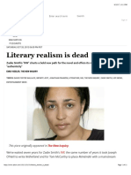 Literary Realism is Dead - Salon.com