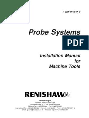 Renishaw.-installation Manual for Machine Tools | Computer ... on