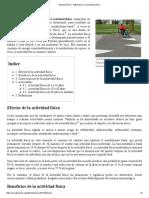 Actividad Física - Wikipedia, La Enciclopedia Libre