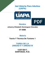 TAREA UNIDAD II Y III TEORIA Y TECNICA.docx