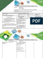 Guia de Actividades y Rúbrica de Evaluación Tarea 1 Elaborar El Diagrama de Flujo Introducción a La Microbiología Ambiental