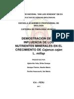 Fisio Vegetal Informe