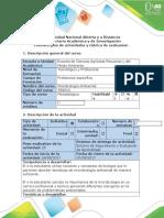Guía de actividades y rúbrica de evaluación - Tarea 1 - Elaborar el diagrama de flujo Introducción a la Microbiología Ambiental.docx