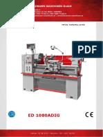 Manual Ed1080adig En